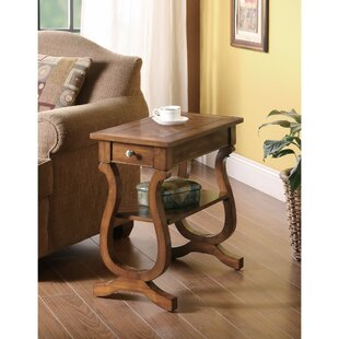 Kimpel Wooden End Table by Alcott Hill