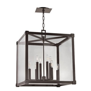 Moncontour 8-Light Square/Rectangle Chandelier by Gracie Oaks