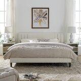 Moniz Upholstered Platform Bed by Wrought Studio™