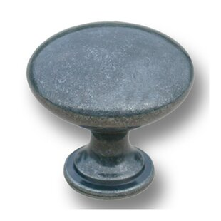 Cast Metal Traditional Mushroom Knob
