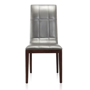 Royal Genuine Leather Upholstered Dining Chair (Set of 2) by Ceets