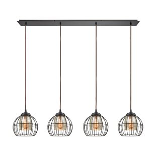 Laurel Foundry Modern Farmhouse Dublin 4-Light Kitchen Island Pendant