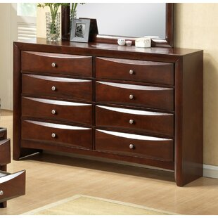 Derik 8 Drawer Double Dresser