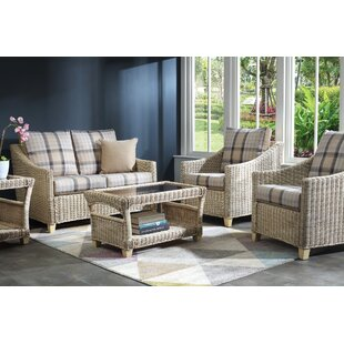 Carly 5 Piece Conservatory Sofa Set By Beachcrest Home