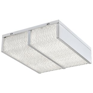 Varaluz Twisted Sistah 2-Light LED Flush Mount