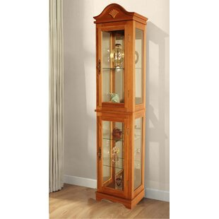 Lighted Curio Cabinet by Jenlea