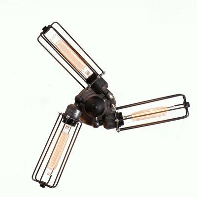 3-Light Armed Sconce Westmen Lights