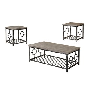 Lagasse 3 Piece Coffee Table Set by Red Barrel Studio