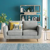 Cooney 63.58 Square Arms Loveseat by Ivy Bronx