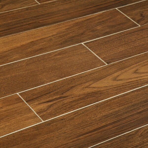 Manor 6 Quot X 36 Quot Porcelain Wood Look Tile In Gunstock Wayfair