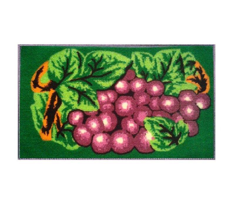 August Grove Eilish Grape Kitchen Mat Wayfair