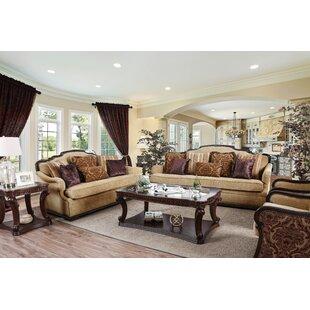 Fleur De Lis Living Corvus Gibbon Configurable Living Room Set