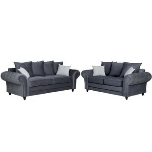 Cutts 2 Piece Sofa Set By Rosalind Wheeler