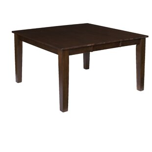 Upshaw Extendable Solid Wood Dining Table Gracie Oaks