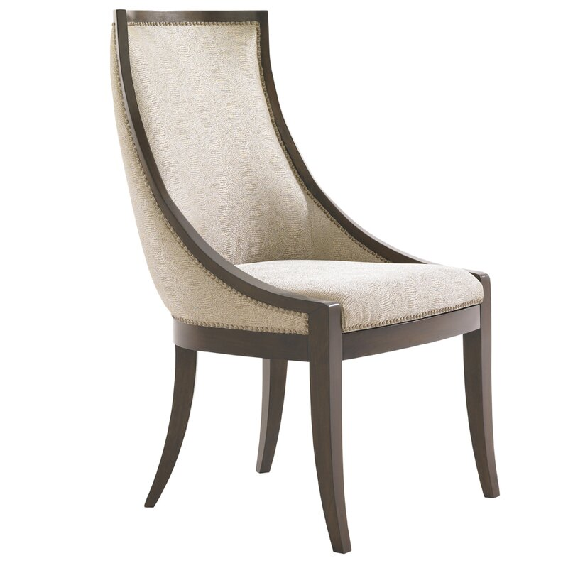 Beau Tower Place Talbott Host Upholstered Dining Chair