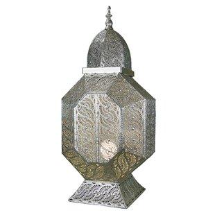 Bloomsbury Market Wildermuth Metal Electric 1-Light Outdoor Hanging Lantern