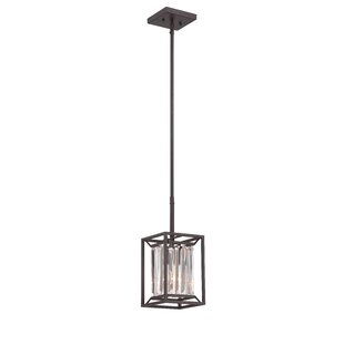 Syracuse 1-Light Square/Rectangle Pendant by Greyleigh