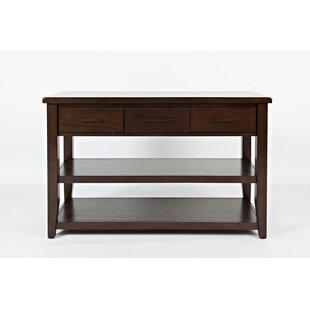 Alcott Hill Kristofer 3 Drawer Sofa Table..