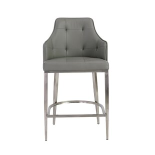 Aurianna Bar Stool by Orren Ellis Discount