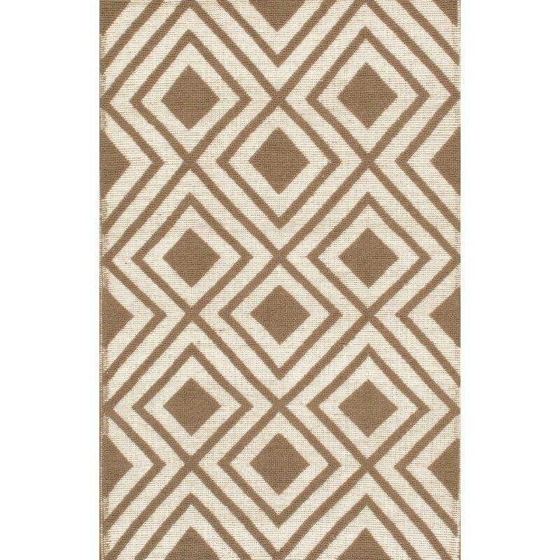 Pasargad Geometric Handmade Flatweave Wool Ivory Area Rug Wayfair