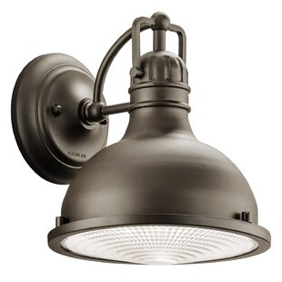 Price comparison Dov 1-Light Outdoor Barn Light By Beachcrest Home