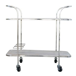 Catriona 2-Tier Bar Cart by Latitude Run