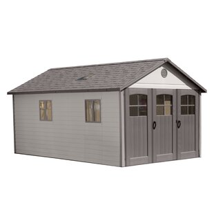 11 Ft. W X 21ft. D Plastic Storage Shed By Lifetime