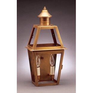 Compare Uxbridge 2-Light Outdoor Flush Mount By Northeast Lantern
