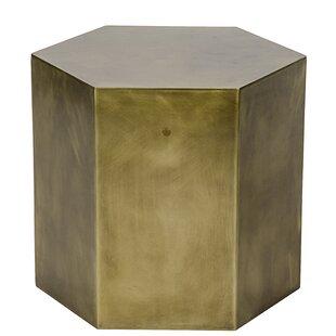 Noir Aria End Table