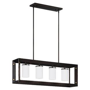 Wrought Studio Neston 4-Light Kitchen Island Pendant