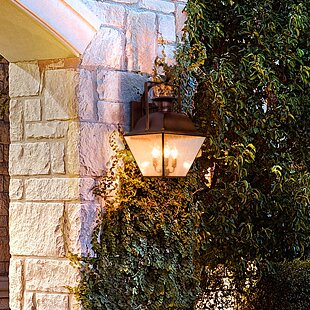 Top Reviews Oakgrove 4-Light Outdoor Wall Lantern By Darby Home Co