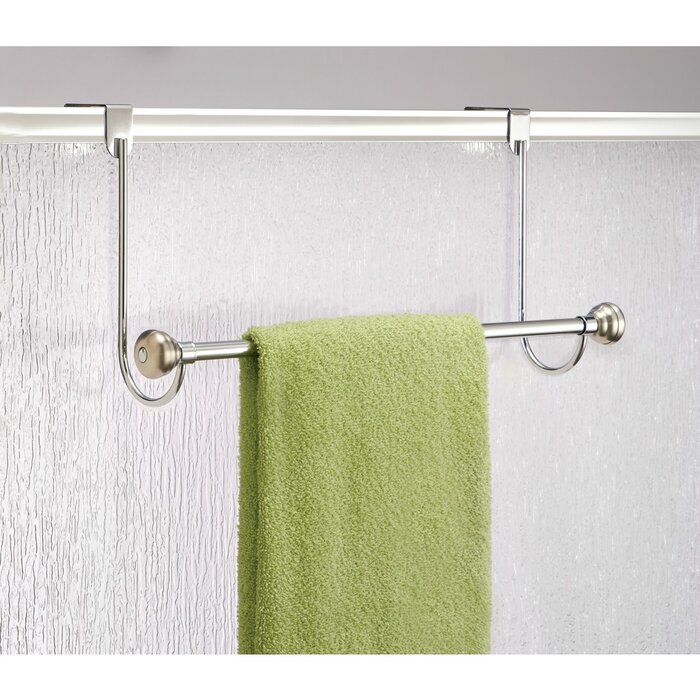 Norris 18 Over The Shower Door Towel Bar