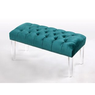 Macie Upholstered Bench by Rosdorf Park