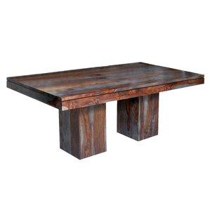 Almon Rustic Dining Table by Loon Peak