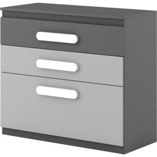 Cannella 3 Drawer Chest by Ivy Bronx