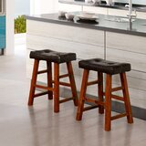 Berenice 24 Bar Stool (Set of 2) by Millwood Pines
