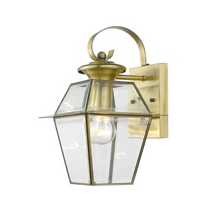 Shop For Orchard Lane 1-Light Outdoor Wall Lantern By Three Posts