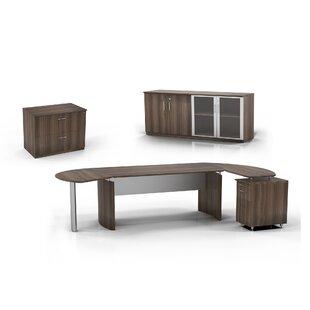 Mayline Group Medina 6-Piece Standard Desk Office Suite