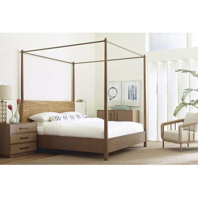 Paquette Canopy Bed Bayou Breeze Size: King