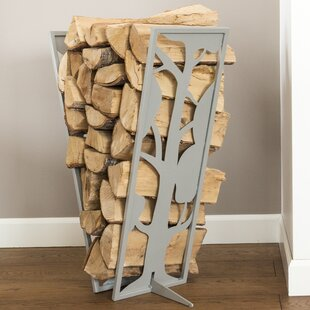 Tree Fire Pit Log Rack By Curonian