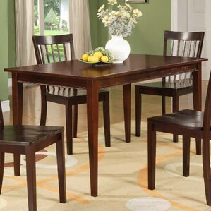 Boulder Creek Wood Dining Table by Alcott Hill