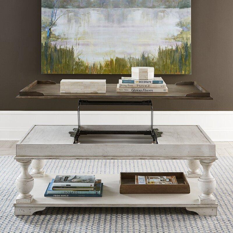 One Allium Way Coronado Lift Top Coffee Table Wayfair