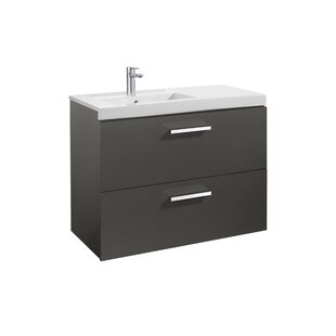 Prisma 89cm Wall Mounted Vanity Unit Base By Roca