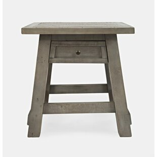 Mcilwain End Table by Gracie Oaks