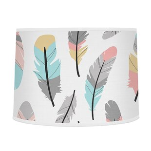 Feather 10 Drum Lamp Shade By Sweet Jojo Designs Lamps
