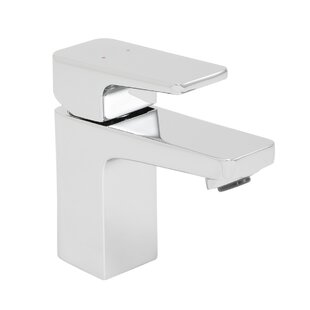 Speakman Kubos Single Lever Single Hole Bathroom Faucet with Drain Assembly