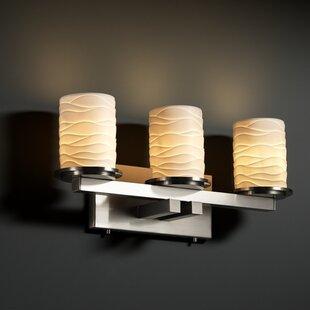 Darby Home Co Devaughn Straight 3-Light Vanity Light