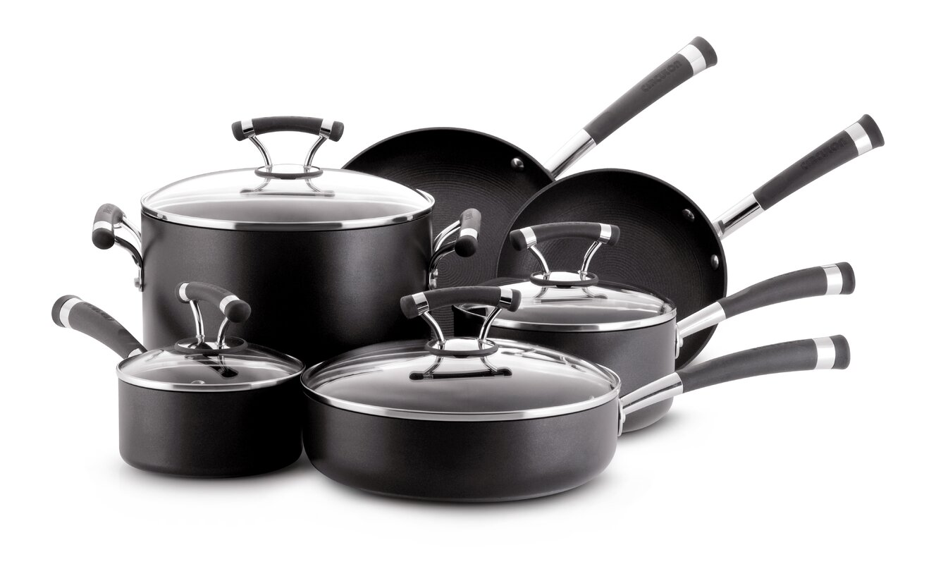 Circulon Contempo 10 Piece Cookware Set & Reviews | Wayfair