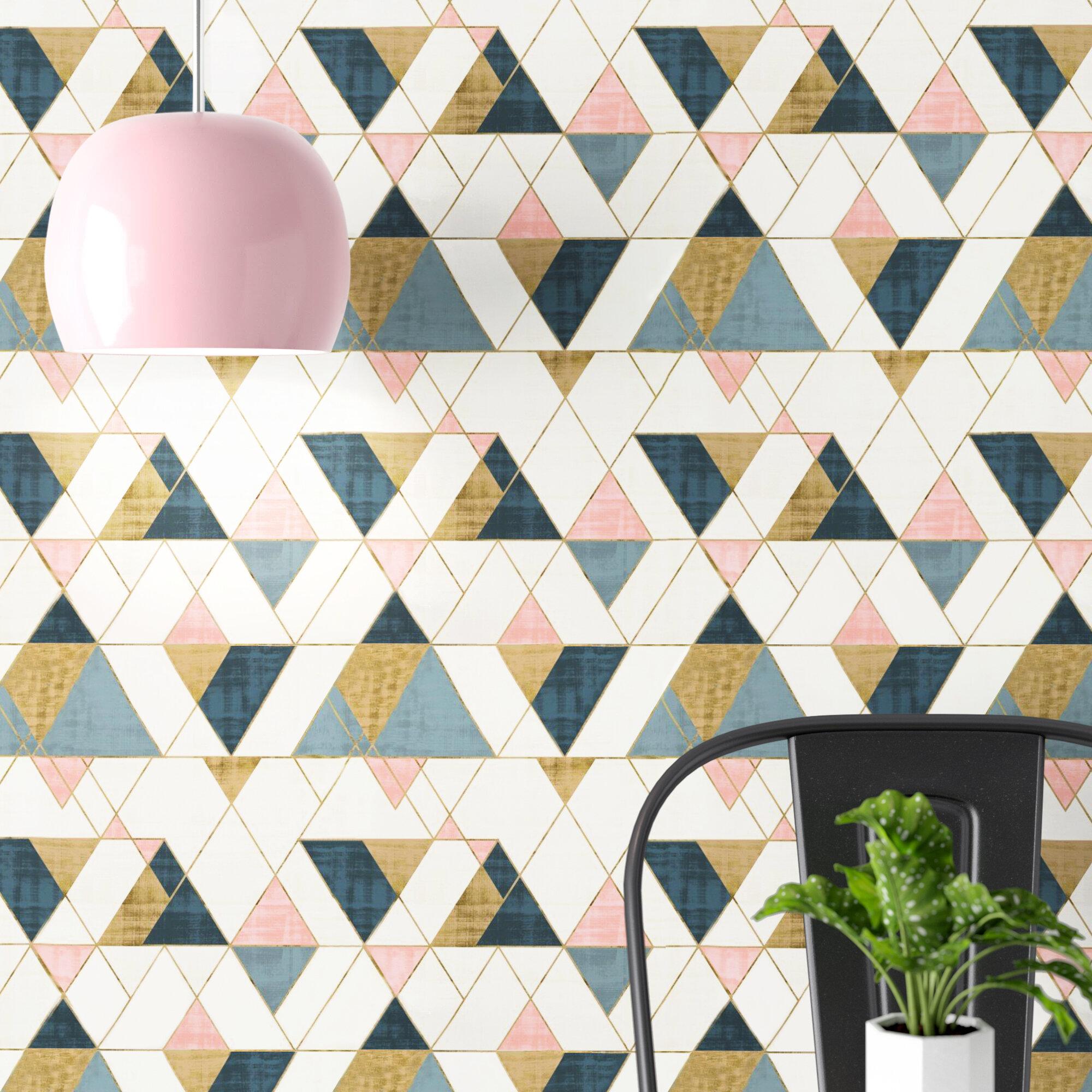 Hashtag Home Debbra Removable Peel And Stick Wallpaper Panel Wayfair