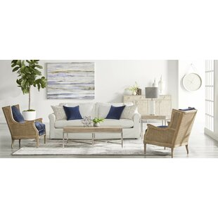 Gracie Oaks Ormside 2 Piece Coffee Table Set